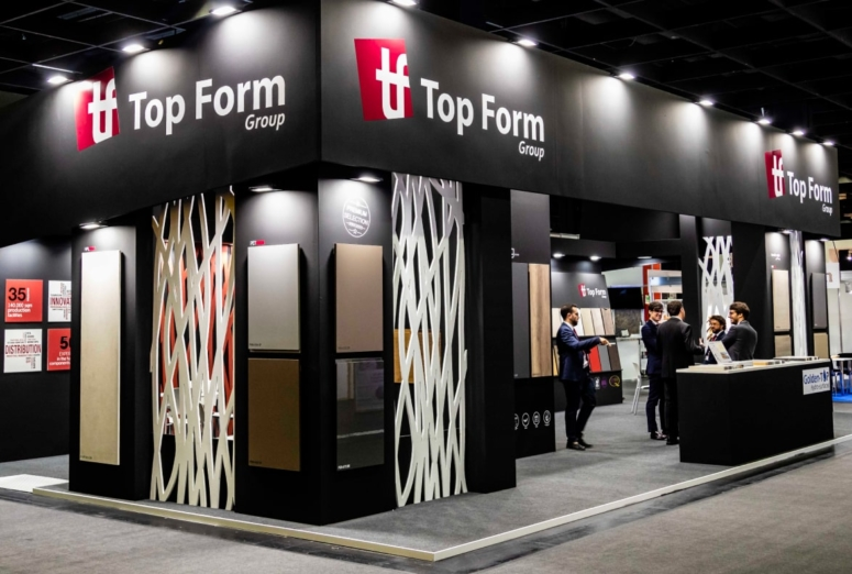 La mejor versión de Top Form Group durante las primeras horas de Interzum